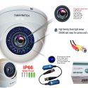 TW 3101 professional HD Waterproof indoor/outdoor use , white metal case