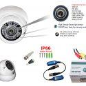 TW 2013cl HD cctv camera ,white metal case water proof indoor/outdoor use