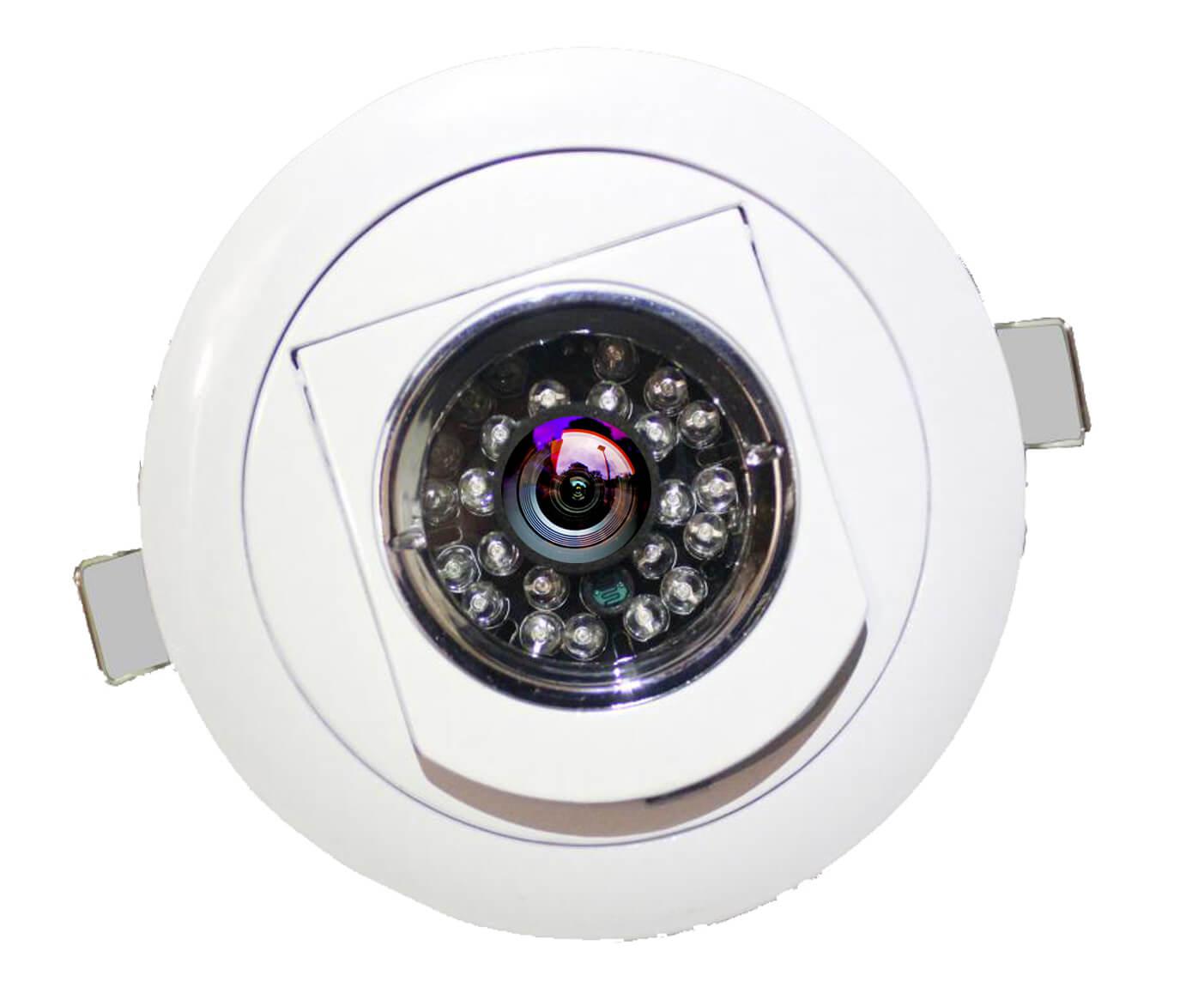 tanin watch TW 1006 ceiling Down light hidden till camera 2 MP professional HD