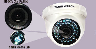 Tanin watch TW 3171 professional HD Night vision dome camera
