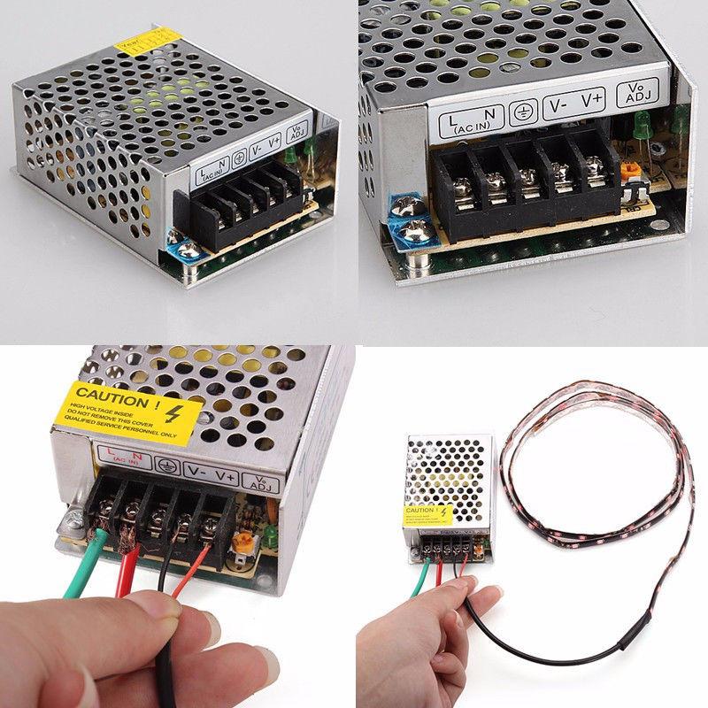 12V DC Power Adapter 10 amp