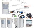 hidden cctv camera converted to pir sensor alarm with night vision